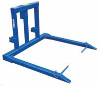 JBI Round Bale Fixed Feed Out Fork